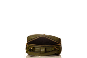 Boxy Flower Me Buckle Sling- Green
