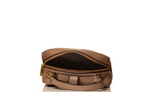 Load image into Gallery viewer, Boxy Flower Me Buckle Sling- Brown