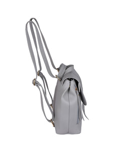 Ribbon Backpack-Grey