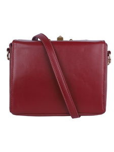 Classic Sling with Gold Clasp - Maroon