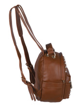 Load image into Gallery viewer, Pearly Vibes Backpack- Brown