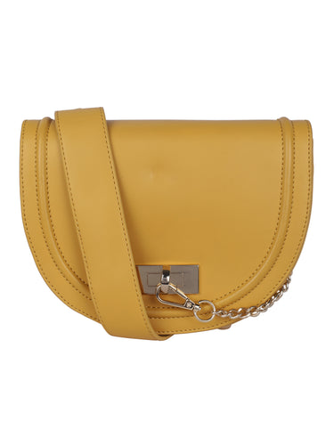 Half Moon Sling-Mustard Yellow