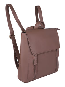 Minimalistic Pastel Backpack-Pink