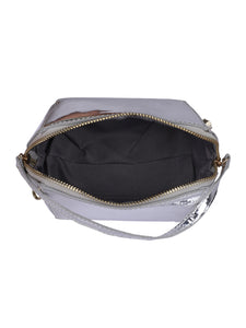 Party Metallic Sling-Silver
