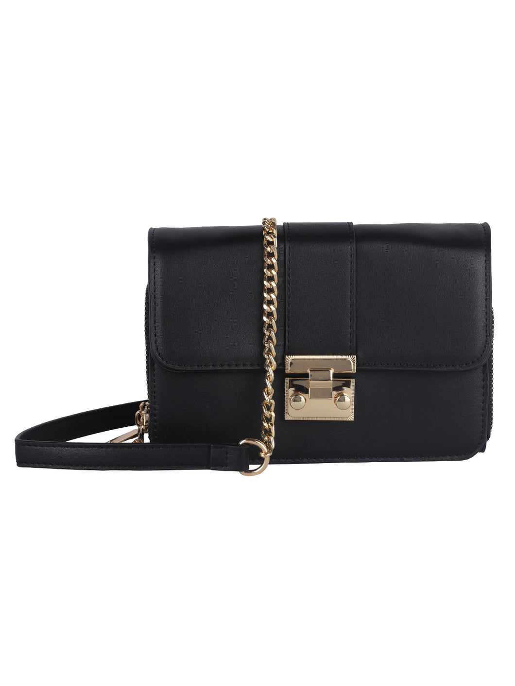 Neutrals Sophisticated Sling - Black