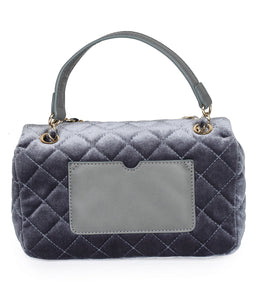 Quilted Sexy Sling-Grey