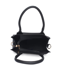 Blush Handbag-Black