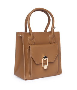 Blush Handbag - Brown