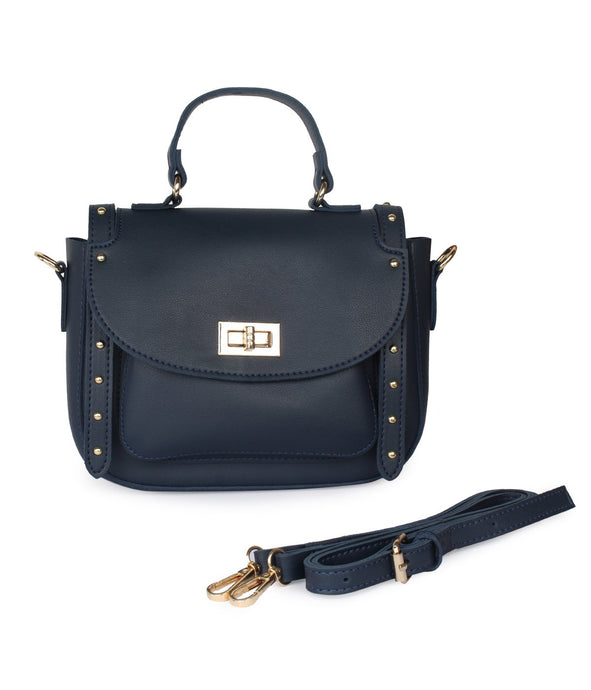 Grace Sling Bag-Navy Blue