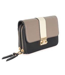 Three-toned Chic Sling-Brown
