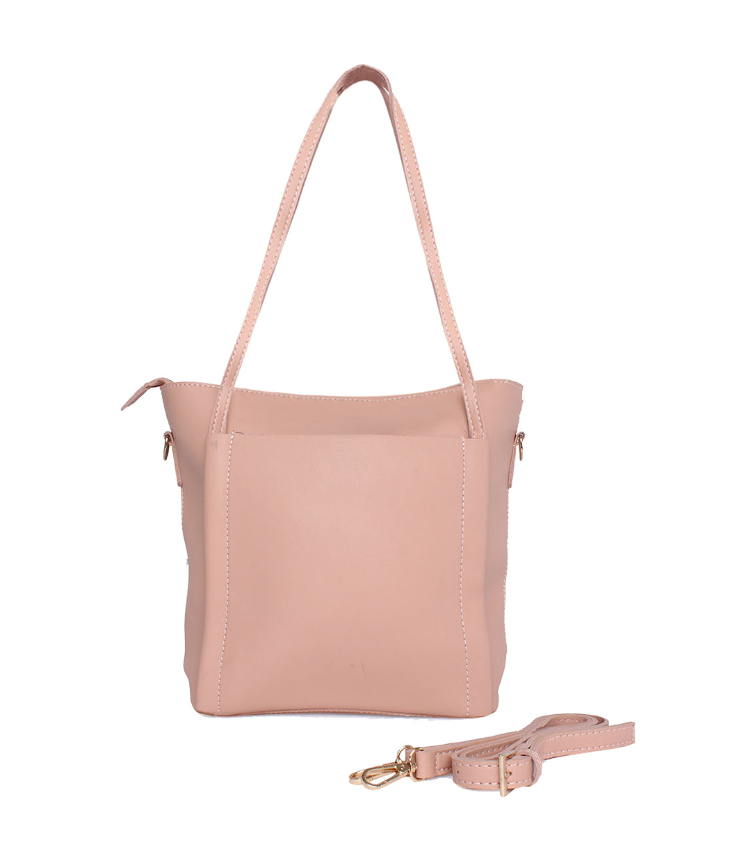 Minimalistic Large Tote-Pink