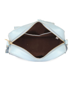 Box Sling Bag-Blue