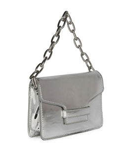 Chain Metallic Sling-Silver
