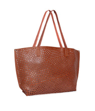Load image into Gallery viewer, The Ultimate Cutwork Handbag-Brown