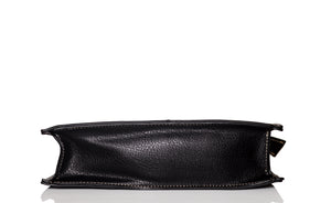 Sharp edge style Clutch - Black