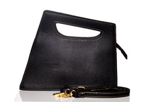 Load image into Gallery viewer, Sharp edge style Clutch - Black