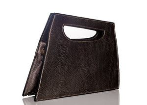 Sharp edge style Clutch - Silver