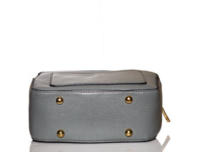 Boxy Flower Me Buckle Sling- Grey