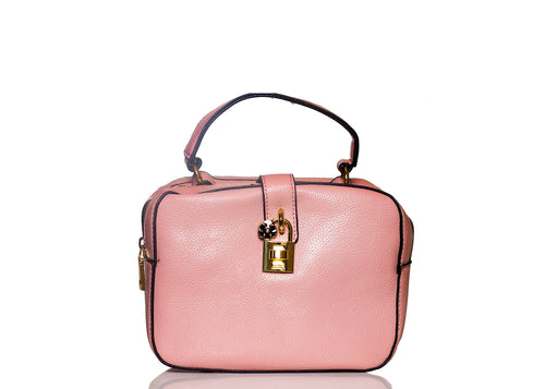 Boxy Flower Me Buckle Sling- Pink