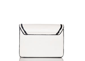 Luxury Buckle Bag- White