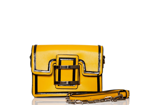Luxury Buckle Bag-Yellow