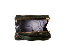 Load image into Gallery viewer, Gold detail Clutch buckle bag