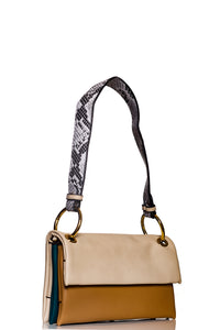 Chic Utility Shoulder/Sling bag - Beige
