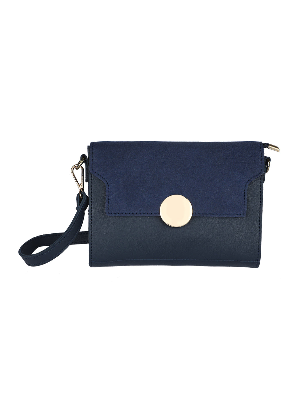 Button Me Sling - Blue