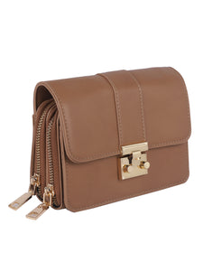 Neutrals Sophisticated Sling - Brown