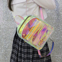 Load image into Gallery viewer, Holo Pink Backpack