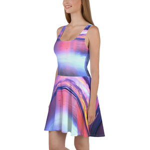 Rainbow Beach Skater Dress