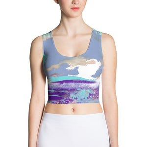 Electric Sea Crop Top