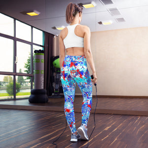 Kiss Me Yoga Leggings