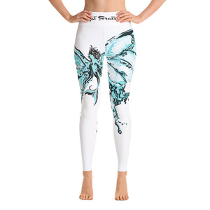 Butterfly Mist Yoga Leggings