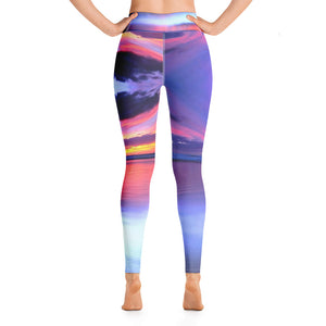 Rainbow Beach Yoga Leggings