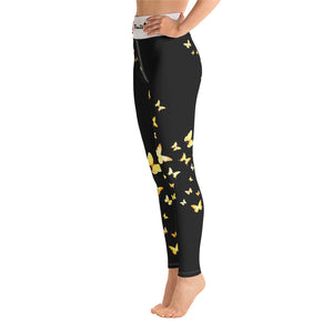 Butterfly Happiness Yoga Leggings