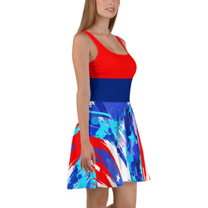 Star Spangled Skater Dress