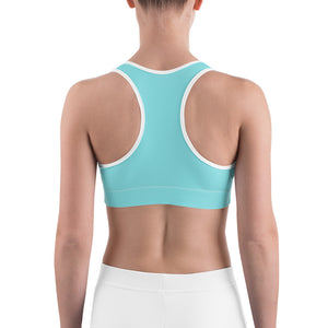 Surf's Up Sports Bra