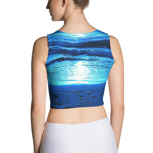 Blue Sunset Crop Top