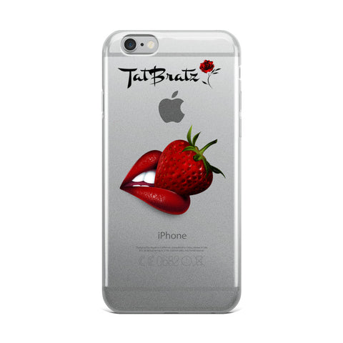 Kiss Me iPhone Case