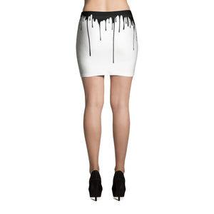 Over the Edge Mini Skirt
