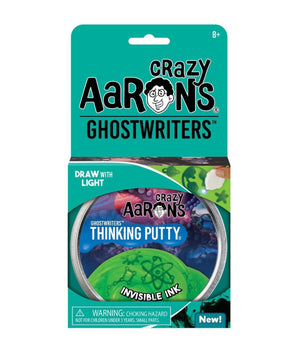Crazy Aaron's Ghostwriters Putty, Invisible Ink
