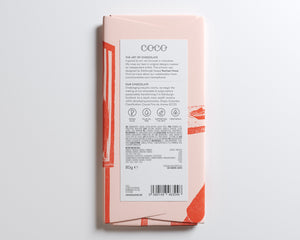 Coco Chocolatier Colombian 40% Milk Chocolate Bar