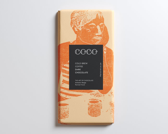 Coco Chocolatier Cold Brew Coffee Dark Chocolate Bar