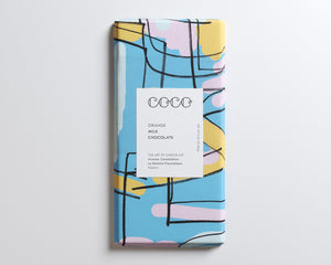 Coco Chocolatier Orange Milk Chocolate Bar