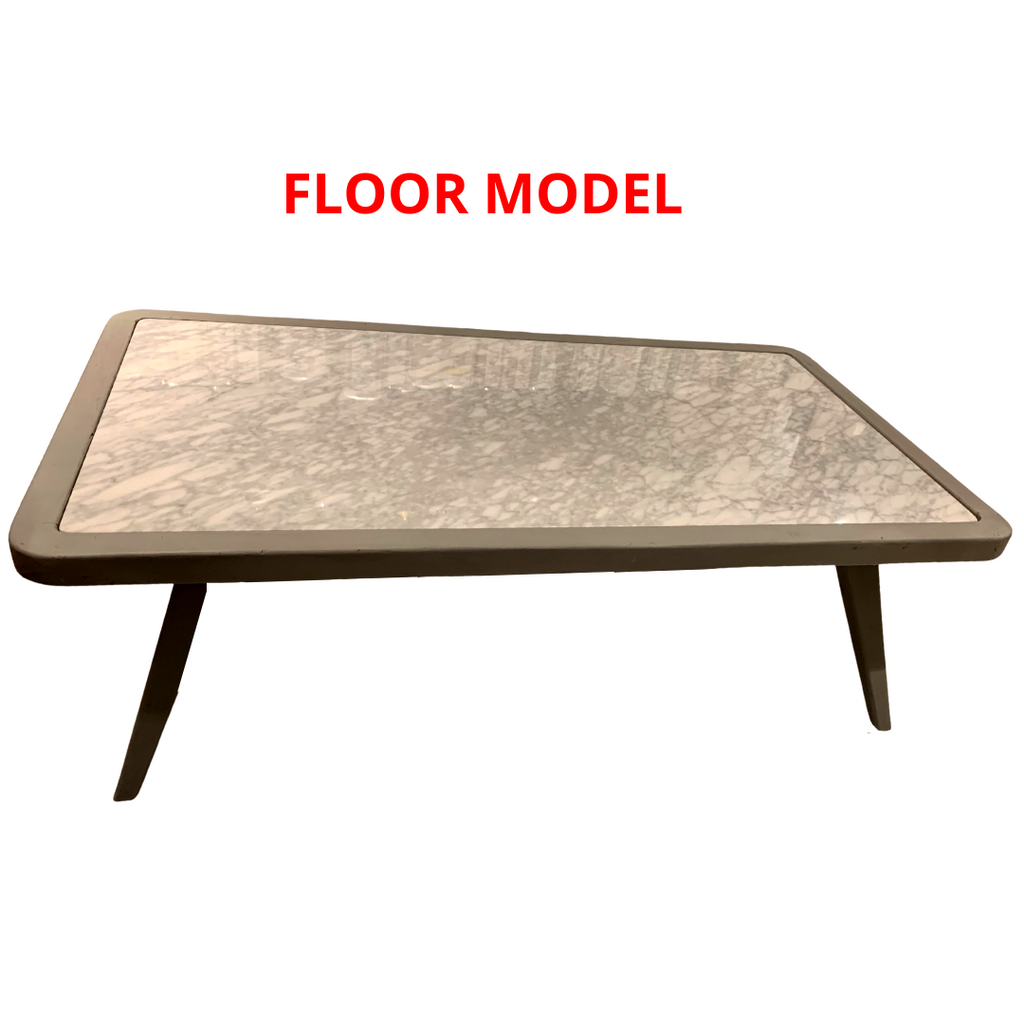 Marble Inlay Coffee Table, Floor Model