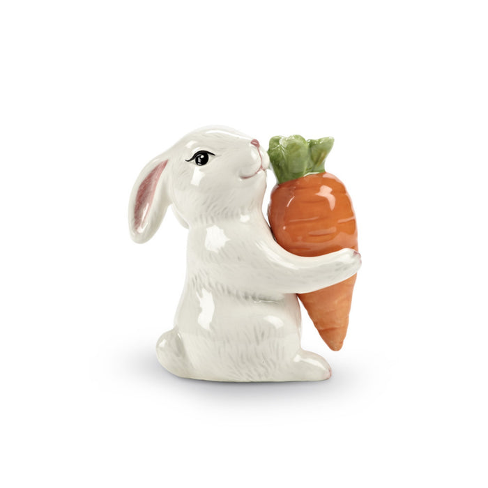 Bunny and Carrot Salt and Pepper Shaker