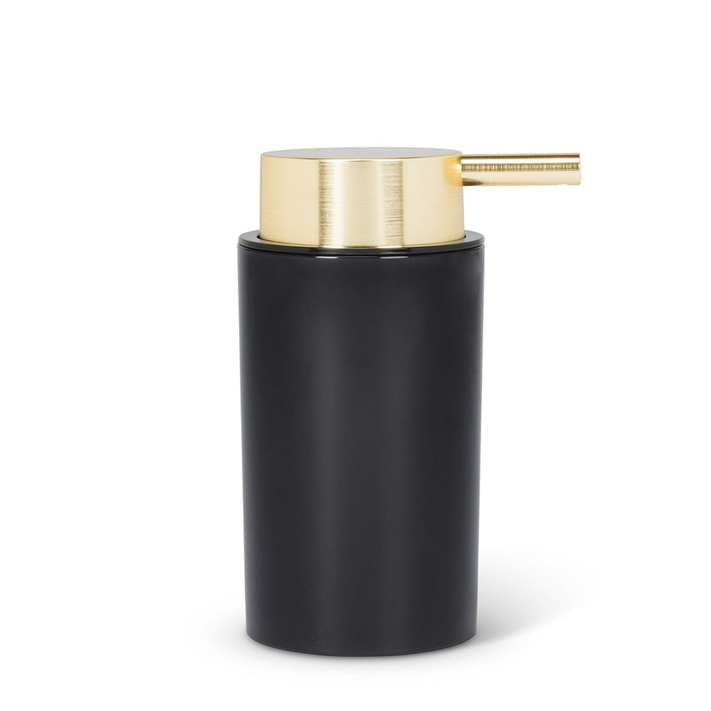 Black and Gold Soap Pump