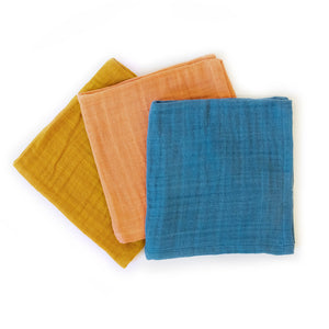 Plant-dyed dish cloths