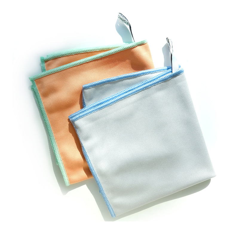 Recycled Microfiber Glass Cloths